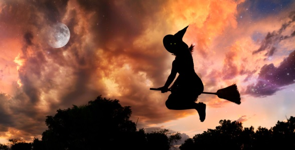 Haunted Flying Witch